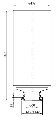 Фильтры для стерилизующей вентиляции емкостей с номинальной производительностью 40-1