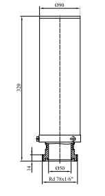 Фильтры для стерилизующей вентиляции емкостей с номинальной производительностью 40