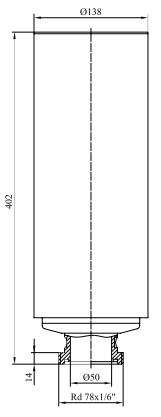 Фильтры для стерилизующей вентиляции емкостей с номинальной производительностью 60-1