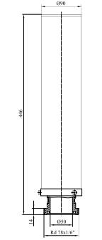 Фильтры для стерилизующей вентиляции емкостей с номинальной производительностью 60