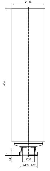 Фильтры для стерилизующей вентиляции емкостей с номинальной производительностью 80