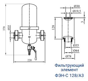 Фильтры для стерилизующей очистки газов с номинальной производительностью 140