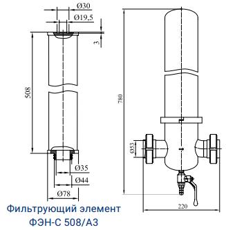 Фильтры для стерилизующей очистки газов с номинальной производительностью 560