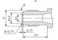 Фильтр МКФ-10 Подсоединительные размеры 2