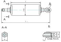 Фильтр МКФ-280 Подсоединительные размеры