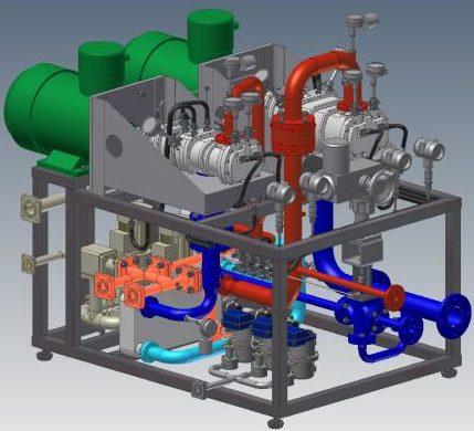 винтовой компрессор схема