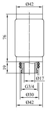 ФЭН П-Т 76 А10 G34