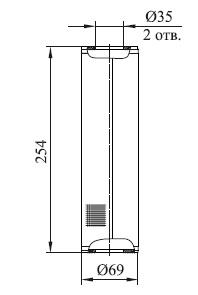 ФЭС-П 25,0-254/П