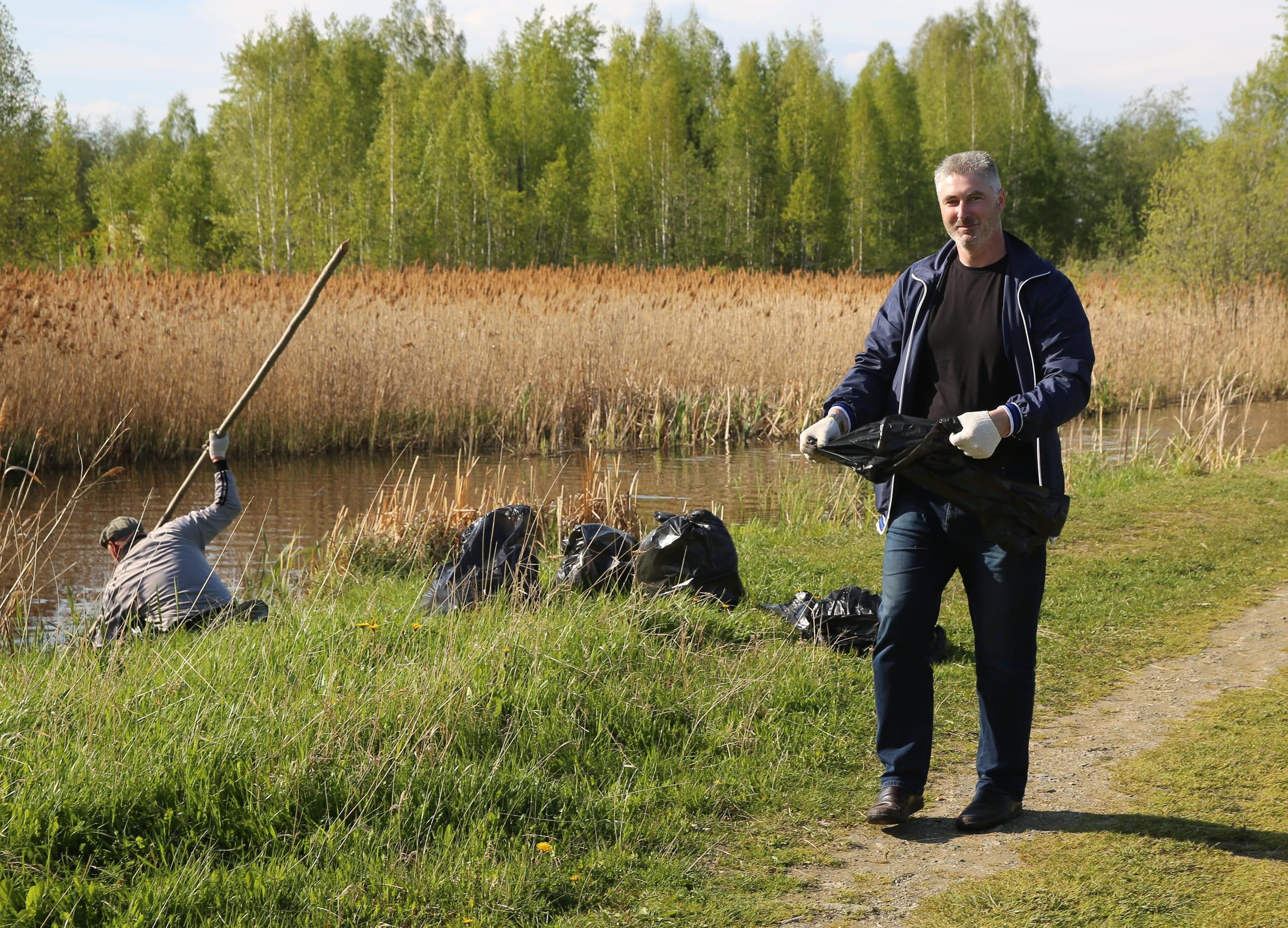 Экокоманда новоуральских атомщиков присоединилась к Всероссийской экологической акции «Вода России»