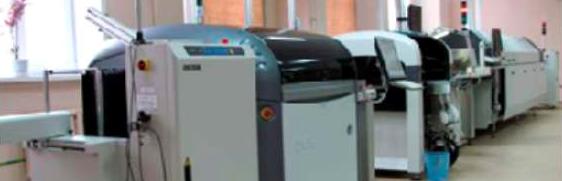 Автоматизированная линия поверхностного монтажа печатных плат